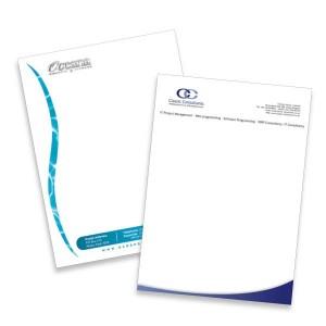 A6 Briefpapier ontwerpen