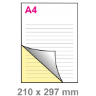 A4 Doordruksets - Los 2voudig
