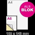 A6 Doordruksets - Blok 2voudig
