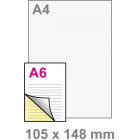 A6 Doordruksets - Los 2voudig