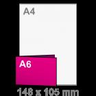 Folder A5 lang naar A6