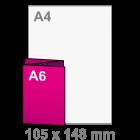 Folder Drieluik A6