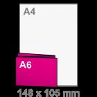 Folder Drieluik A6 liggend