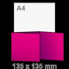 Folder Drieluik 135x135