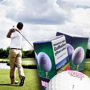Golfballen Giftset - 3 stuks inclusief doosje