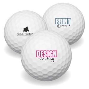 Golfballen bedrukken - Titleist Mix AA klasse