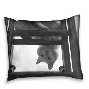 Kussensloop 70x60 cm - Voorkant bedrukt