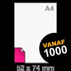 A8 Sticker drukken