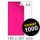 Sticker drukken 140x297 mm