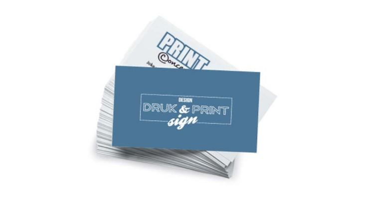 visitekaartje gevouwen staand extra lang designprinting